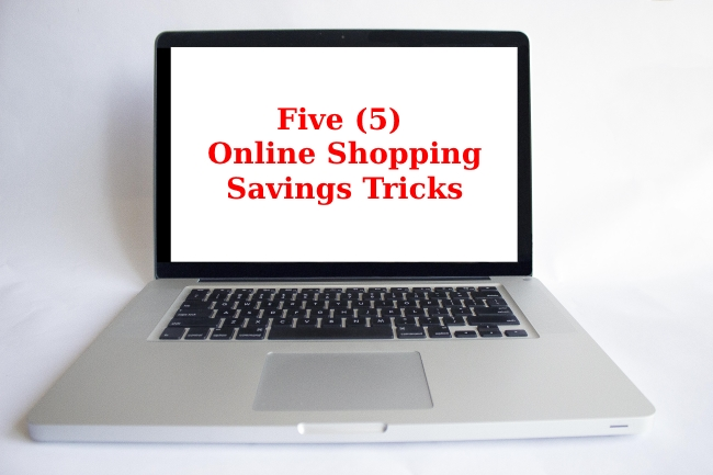 online shopping saving tricks