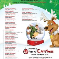 FREEFORM (formerly ABC Family) - 25 Days of Christmas Schedule