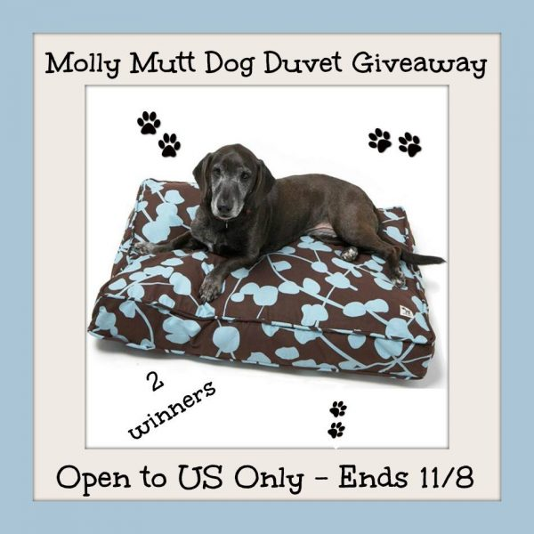 Molly Mutt Dog Duvet Giveaway