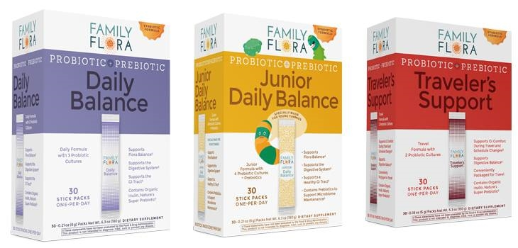 Family Flora Daily Balance Probiotic+Prebiotic giveaway