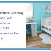 Juniper Kid Mattress Giveaway