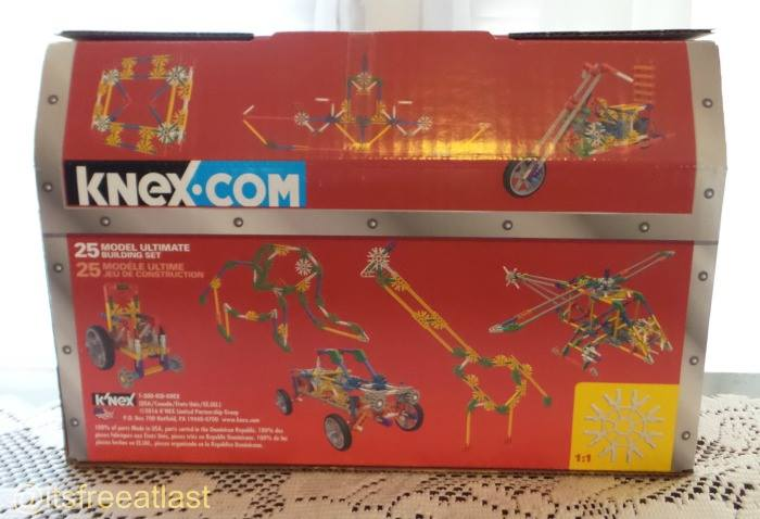 K'NEX 25 Model Ultimate Building Set Giveaway