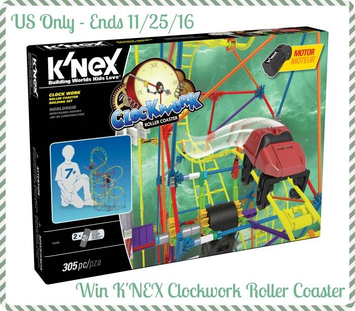 knex clockwork roller coaster giveaway