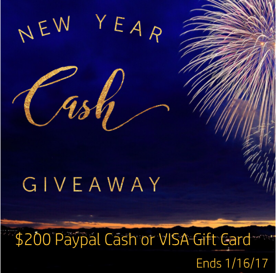 New Year Cash Giveaway