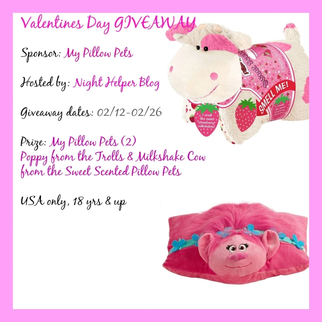 My Pillow Pets Giveaway