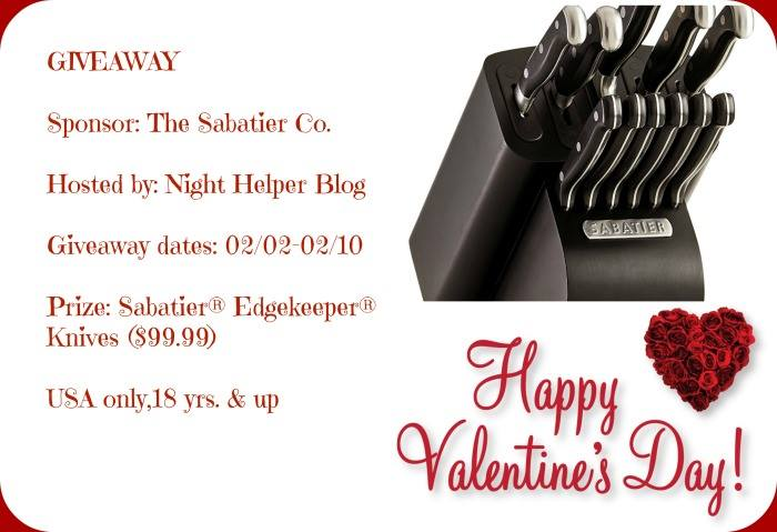 Sabatier® Edgekeeper® Knives Giveaway