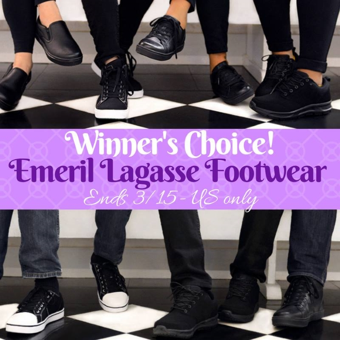 Emeril Lagasse Footwear Giveaway