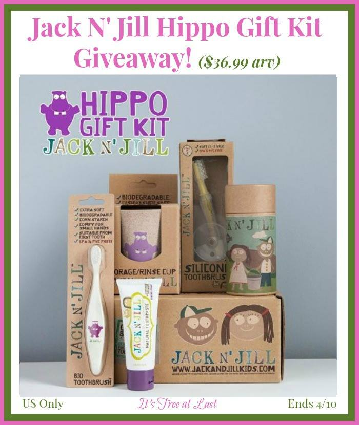 Jack N' Jill Hippo Gift Kit Giveaway