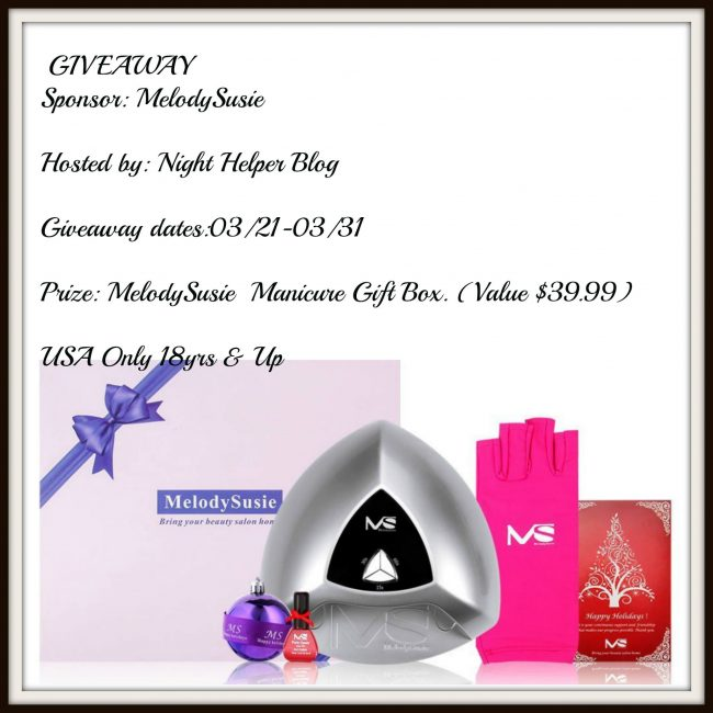 MelodySusie Manicure Gift Box Giveaway