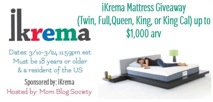 iKrea mattress giveaway