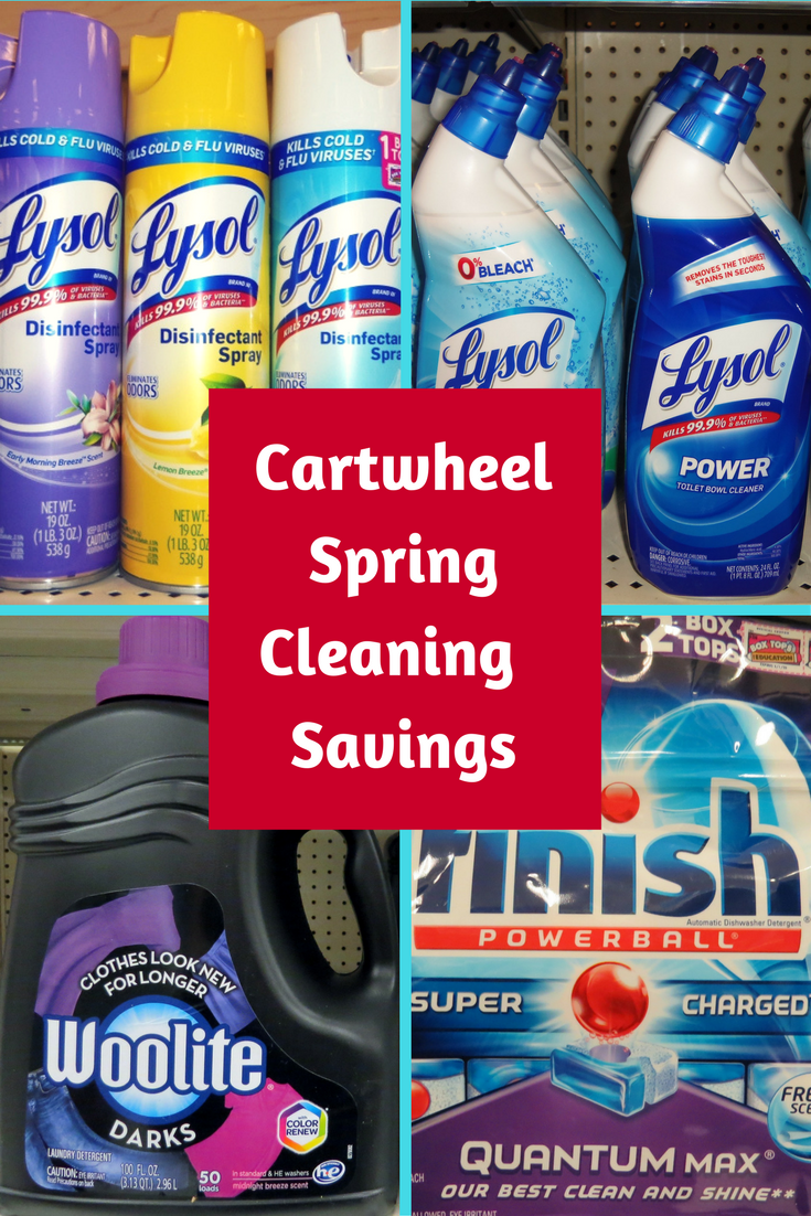 Target Cartwheel Lysol Savings Event