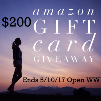 $200 April Amazon Gift Card Giveaway - Open WW