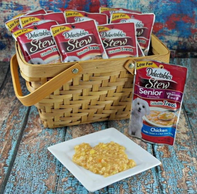 Delectables Lickable Dog Treats Giveaway