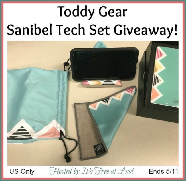 Toddy Gear Sanibel Tech Set Giveaway