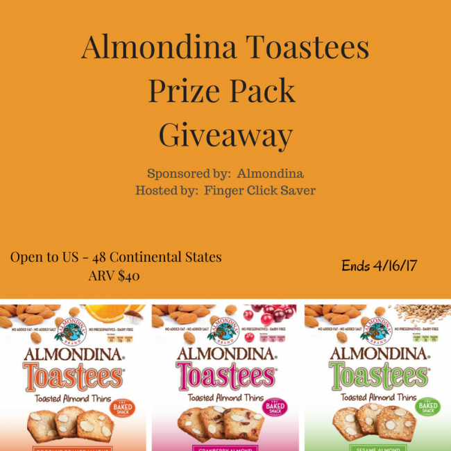 almondina prize pack giveaway