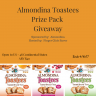 Almondina Toastees Review & Giveaway - An All Natural Product