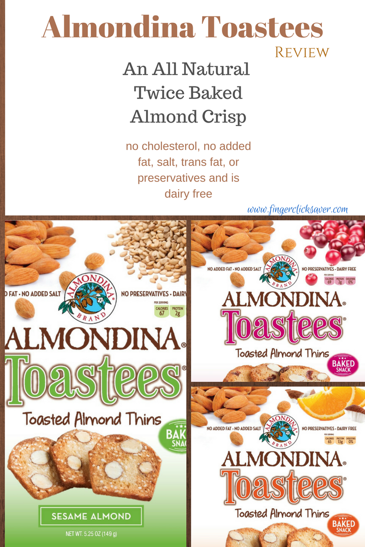 almondina toastees review