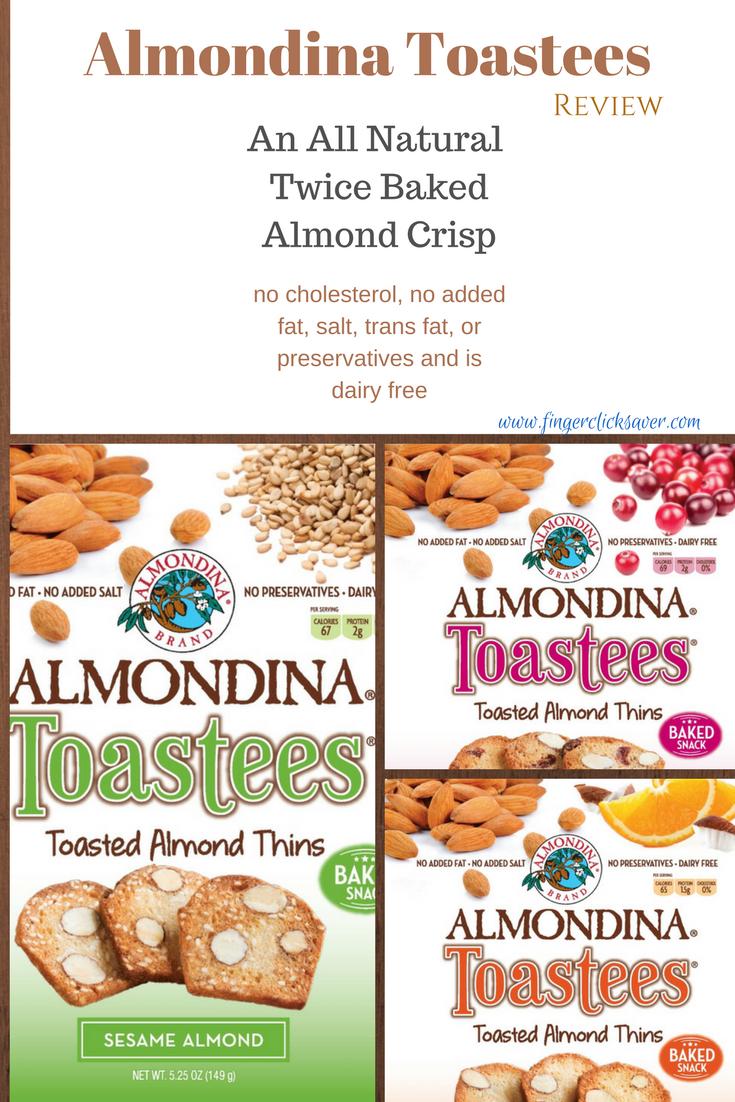 almondina toastees review