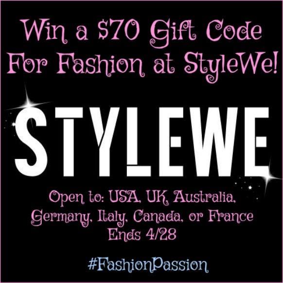 StyleWe Giveaway