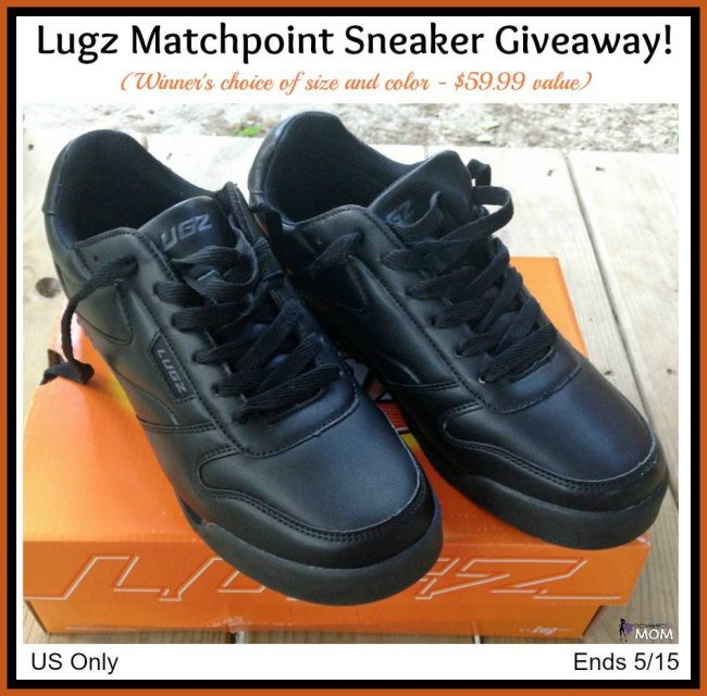 Men's Lugz Matchpoint Sneaker Giveaway