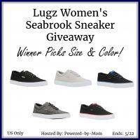 Lugz Women's Seabrook Sneaker Giveaway - Winner's Pick