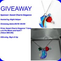 """Sweet Charm Elegance """"I love u to the Moon and back"""" Mothers Day Giveaway"""