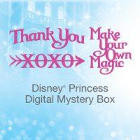 Cricut's May Digital Mystery Box - Disney Princess