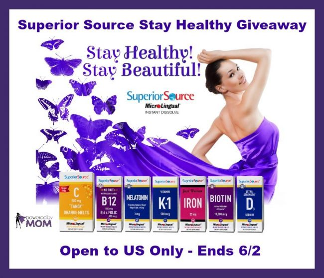 superior source vitamin giveaway