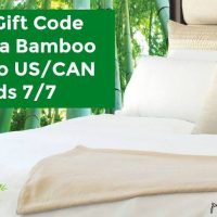 $150 GC to Cariloha.com Giveaway - Spend on Bedding/Towels/Clothes & More