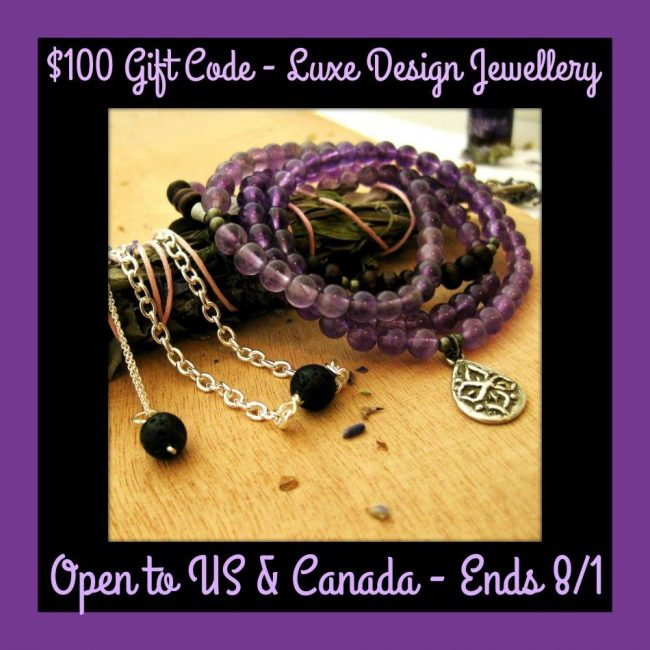 00.00 gift code luxe design jewellry giveaway