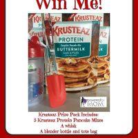 Krusteaz Prize Pack Giveaway - Think Pancakes!