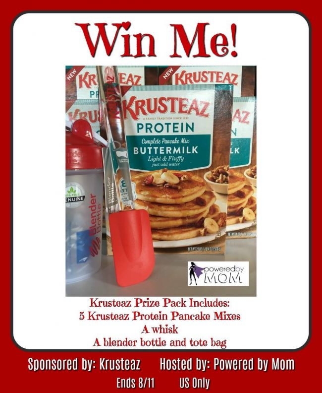 Krusteaz Pancakes Mix Giveaway