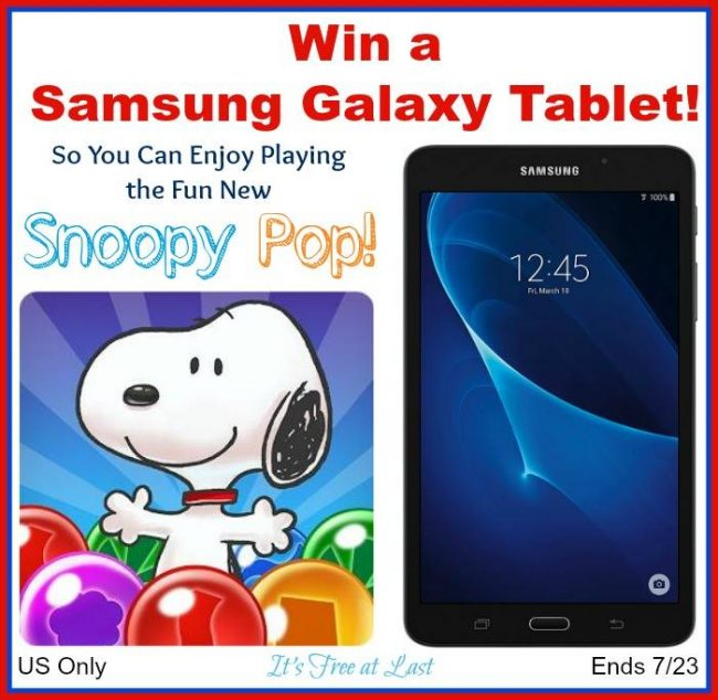 Samsung Galaxy Tablet Giveaway