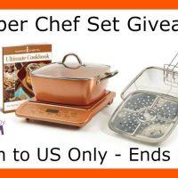 "Copper Chef 11"" 6-Piece Set Giveaway"
