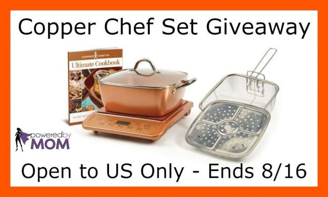 "Copper Chef 11"" 6-Piece Set Giveaway"