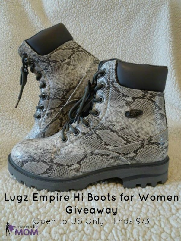 Lugz Empire Hi Boots for Women Giveaway