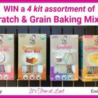 Scratch & Grain Baking Mixes Giveaway - 4 Kit Assortment