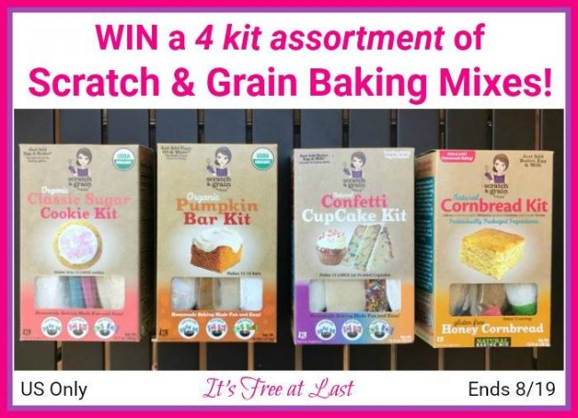 Scratch & Grain Baking Mixes Giveaway