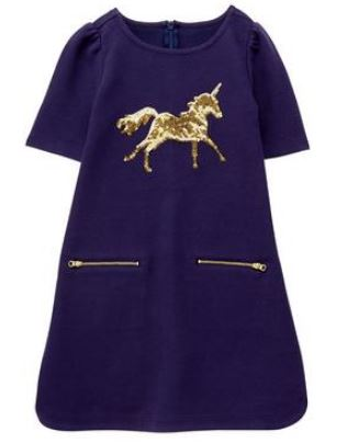 Unicorn dress with sparkles