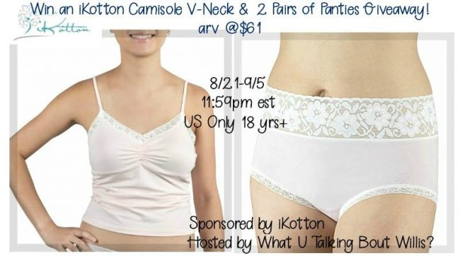 iKotton Lingerie Giveaway