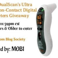 DualScan's Ultra Pulse and Air Non-Contact Digital Thermometers Giveaway - 2 Winners
