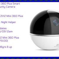 EZVIZ Mini 360 Plus Smart Home Security Camera Giveaway