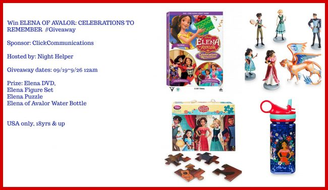 Elena of Avalor Celebrations to Remember Kit #Giveaway