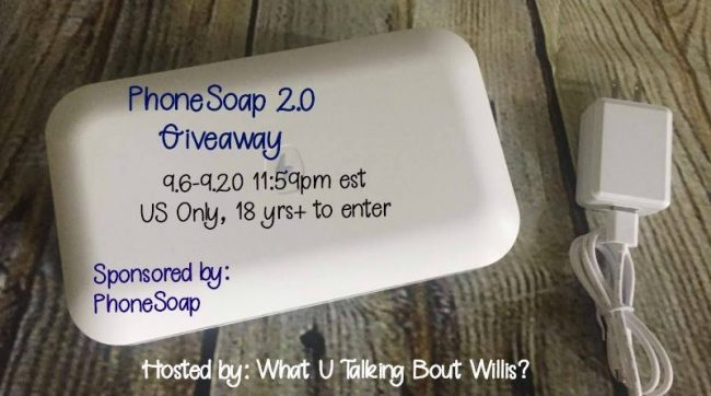 PhoneSoap 2.0 Giveaway