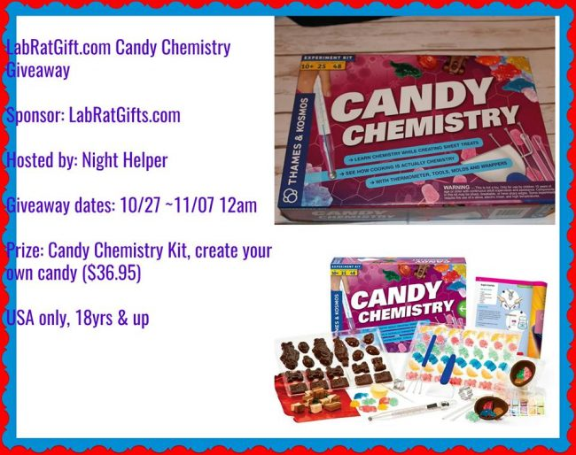Candy Chemistry Science Kit Giveaway