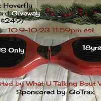 GoTrax Hoverfly Hoverboard Giveaway (arv $249)