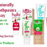 Hello Products Naturally Friendly Toothpaste Giveaway -7 Products