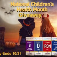 Superior Source Vitamins Prize Pack Giveaway - Honoring National Children's Health Month