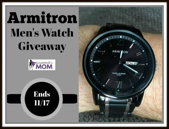 Armitron Men's Watch Giveaway
