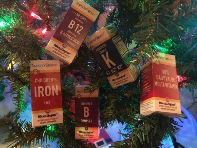 Holiday Cornucopia of Health Vitamin Pack Giveaway